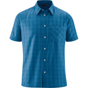 Maier Sports Karo Top Herrer, blue check